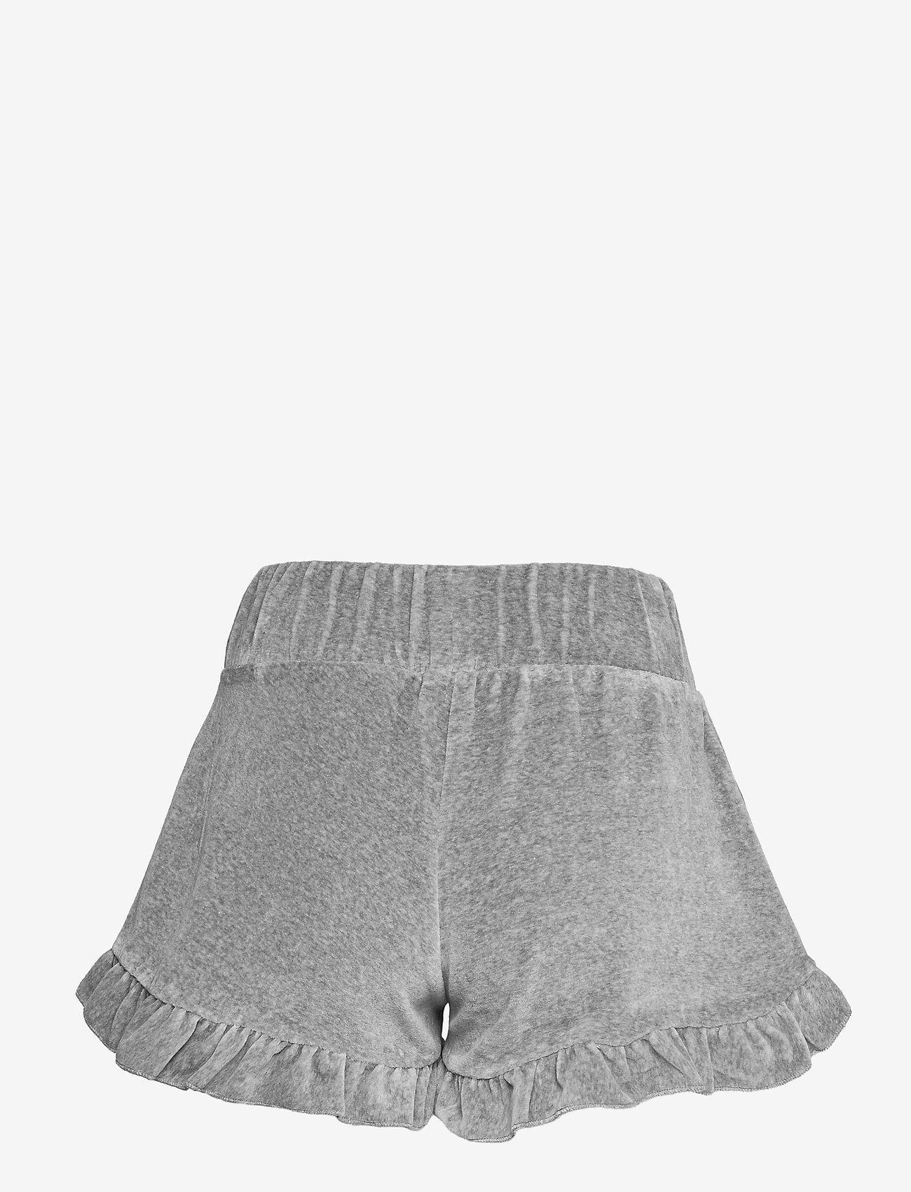 ella&il - Hay velour shorts - shorts casual - grey - 1