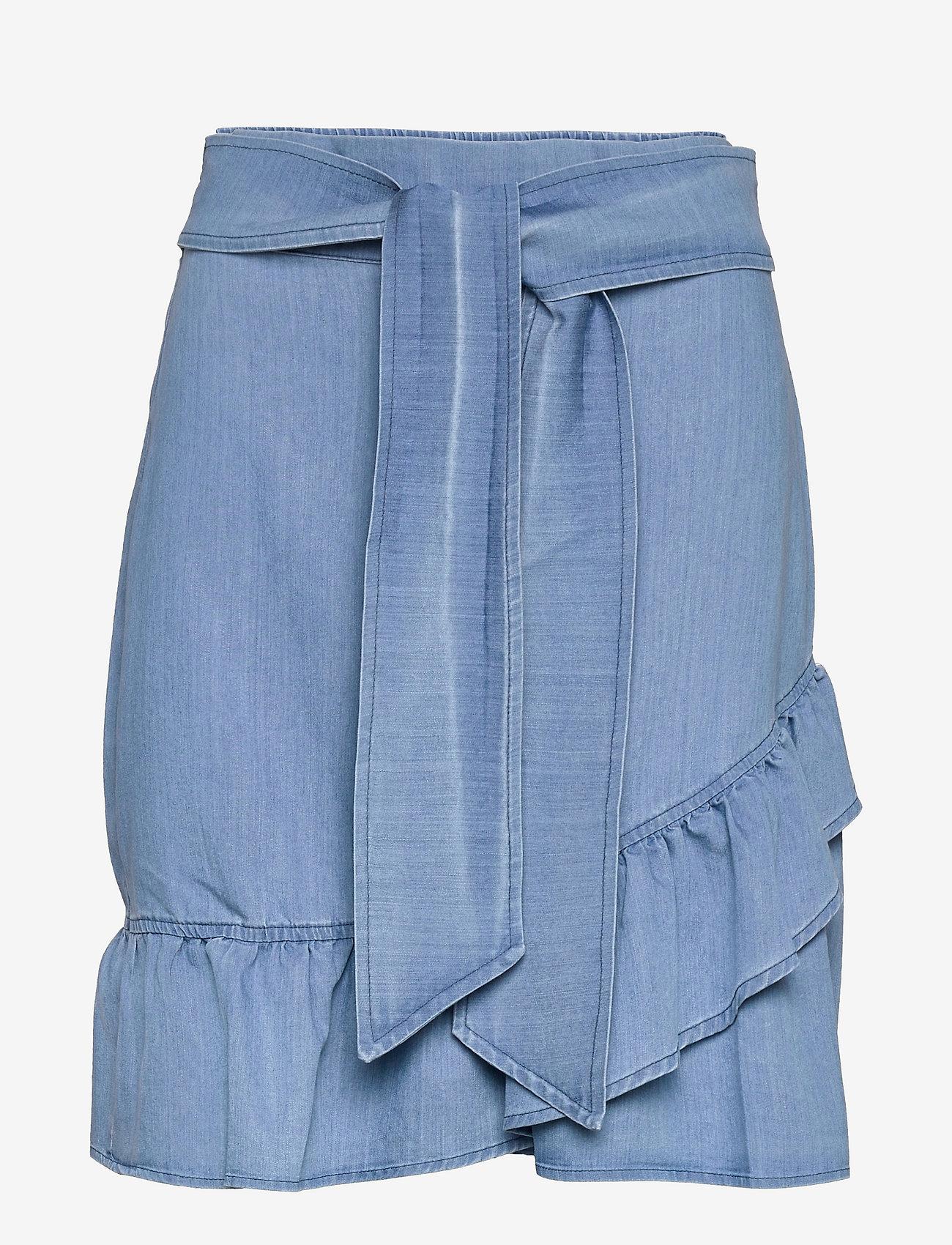 ella&il - Jus denim skirt - jupes en jeans - blue denim - 0
