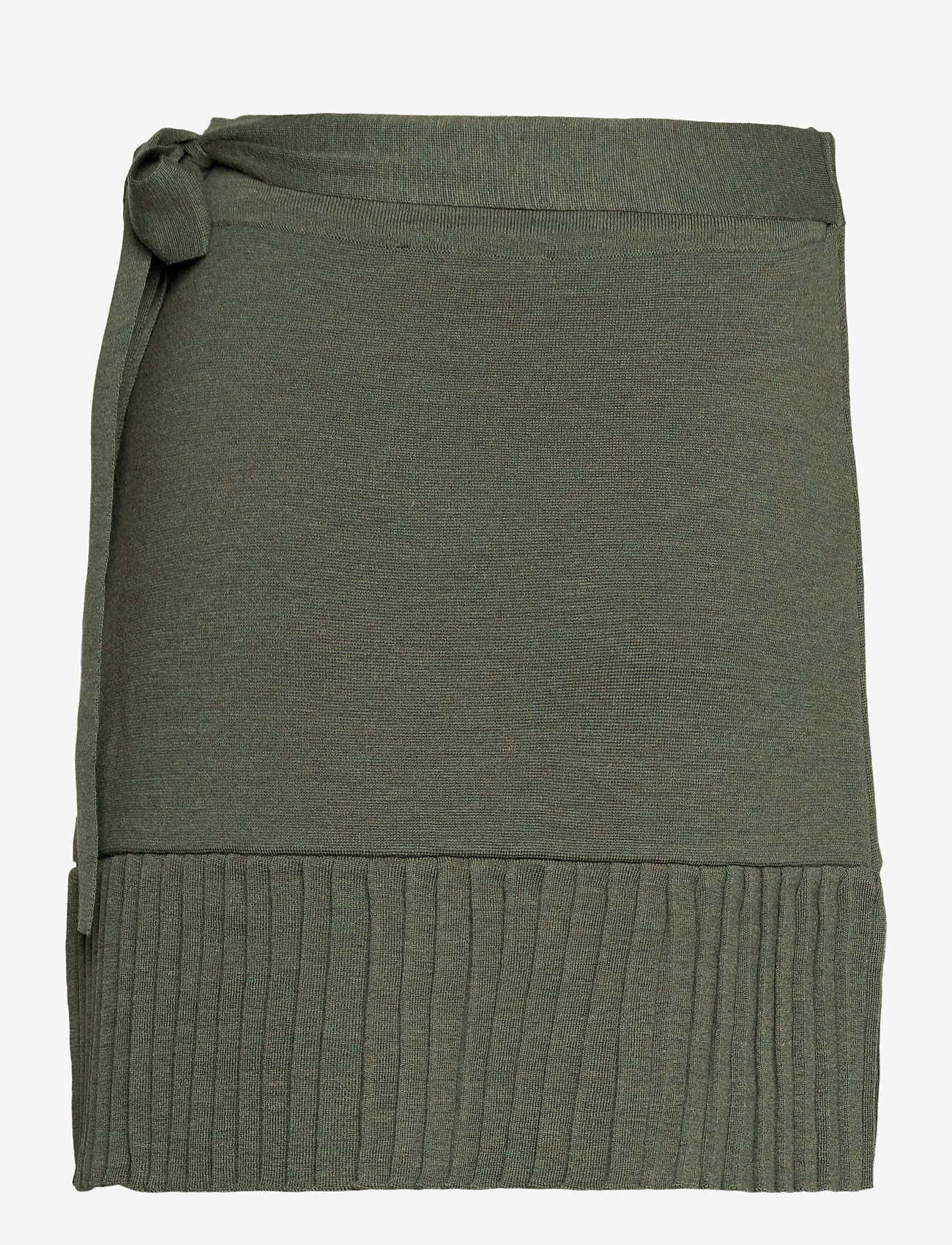 ella&il - Lucy merino skirt - jupes portefeuille - green - 1