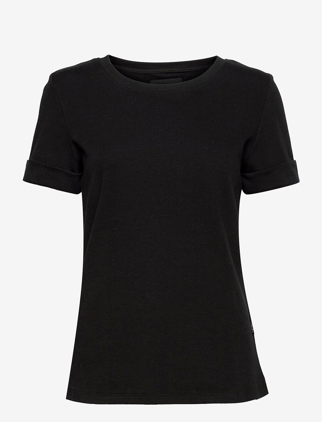 ella&il - Ina tee - t-shirts - black - 0