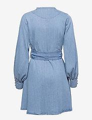 ella&il - Zena denim dress - robes de jour - blue denim - 1