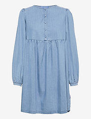 ella&il - Sammy denim dress - robes de jour - blue denim - 0
