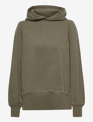 Tina hoodie - DARK GREEN