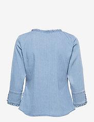 ella&il - Clara denim shirt - chemises en jeans - blue denim - 1