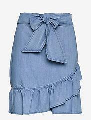 ella&il - Jus denim skirt - jupes en jeans - blue denim - 1