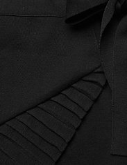 ella&il - Lucy merino skirt - jupes portefeuille - black - 2