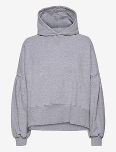 Belle hoodie - sweatshirts et sweats à capuche - grey