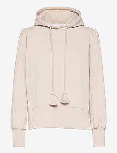 Mimmi hoodie - pulls à capuche - beige
