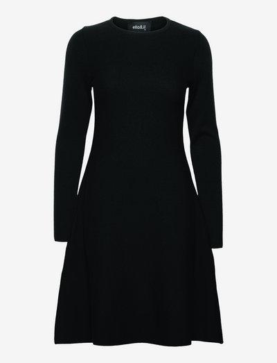 Cecilie merino dress - robes d'été - black