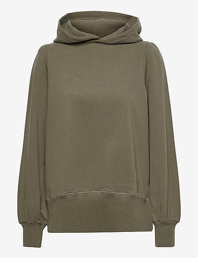 Tina hoodie - pulls à capuche - dark green