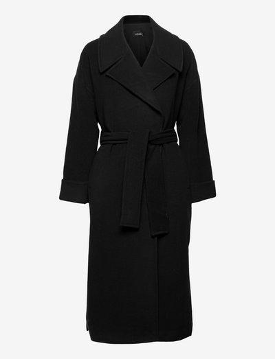 Adele coat - manteaux d'hiver - black