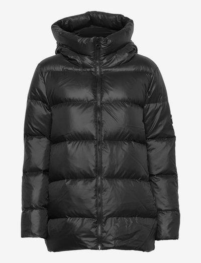 Pippi down jacket - black