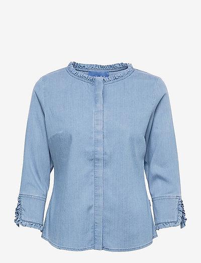 Clara denim shirt - chemises en jeans - blue denim