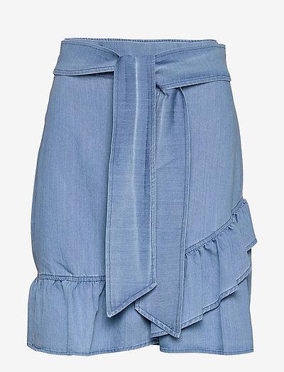 Jus denim skirt - jupes en jeans - blue denim
