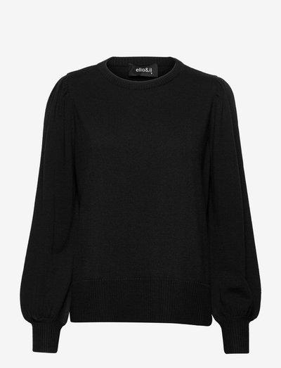 Sonja merino sweater - pulls - black