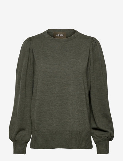 Sonja merino sweater - pulls - green