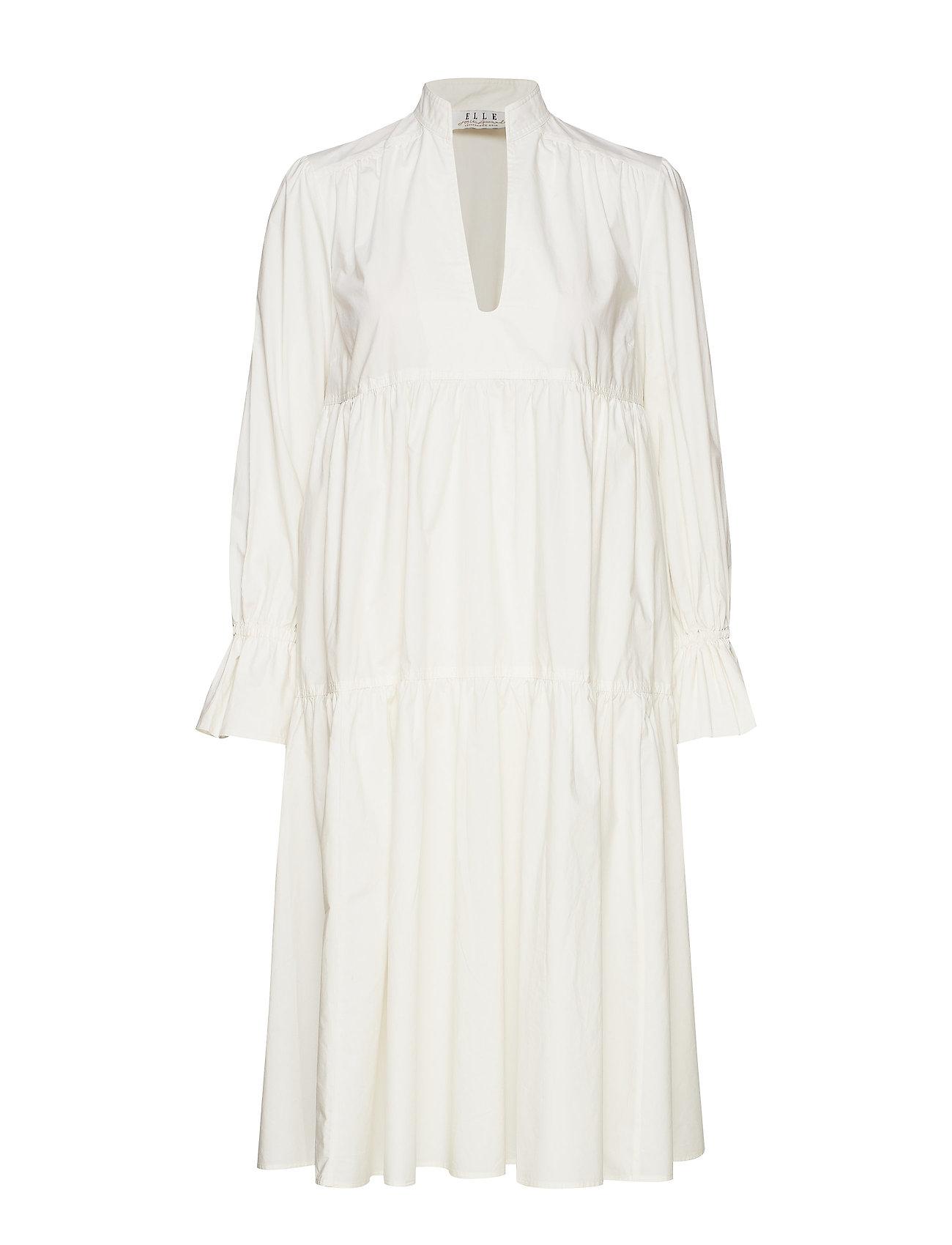 Elle Style Awards Collection 2019 Madrid Poplin Dress - WHITE