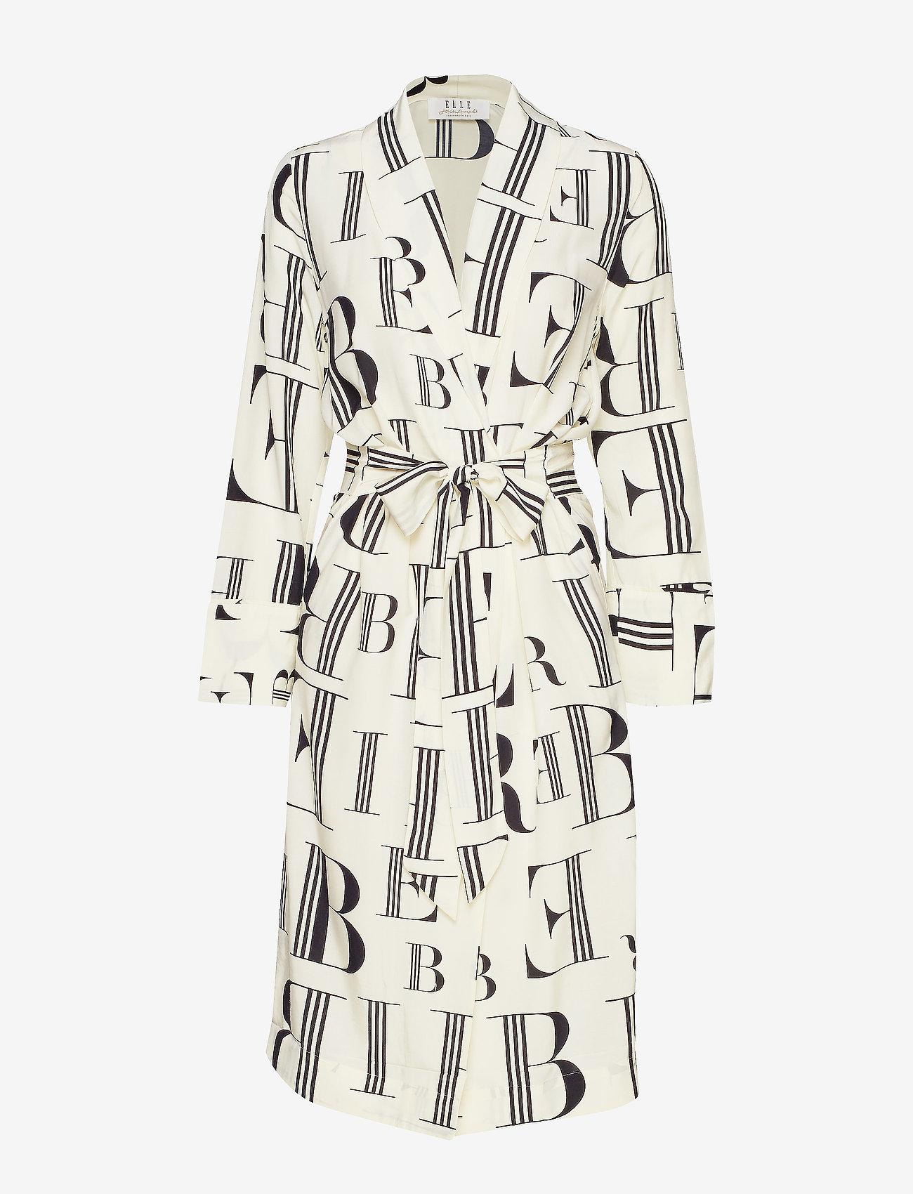Elle Style Awards Collection 2019 Hampton Kimono - Sukienki BLACK - Kobiety Odzież.