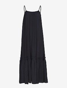 Rome Strap Dress - BLACK