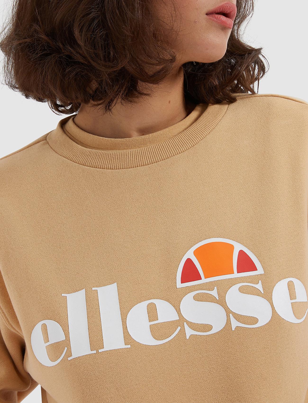 Ellesse EL AGATA SWEATSHIRT - Swetry BROWN - Kobiety Odzież.