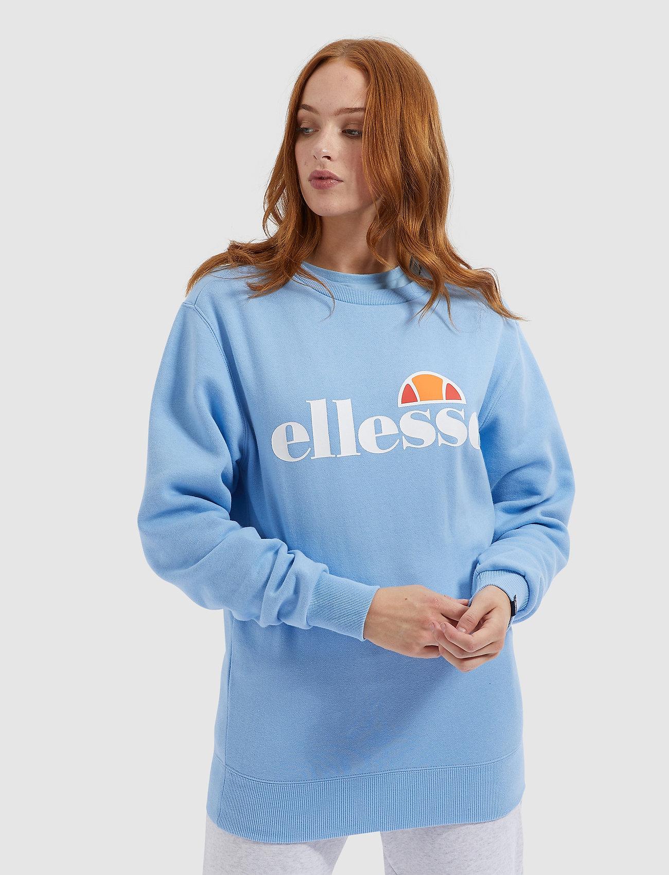 Ellesse - EL AGATA SWEATSHIRT - bluzy - light blue - 0
