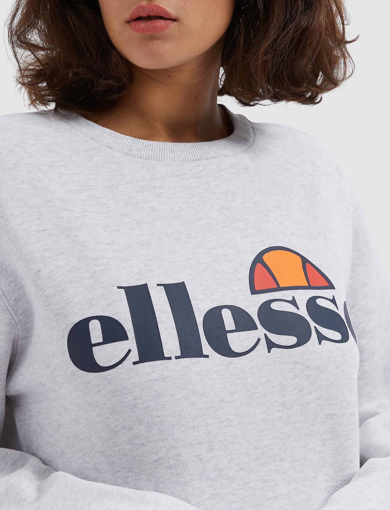 El Agata Sweatshirt (White Marl) (420 kr) - Ellesse