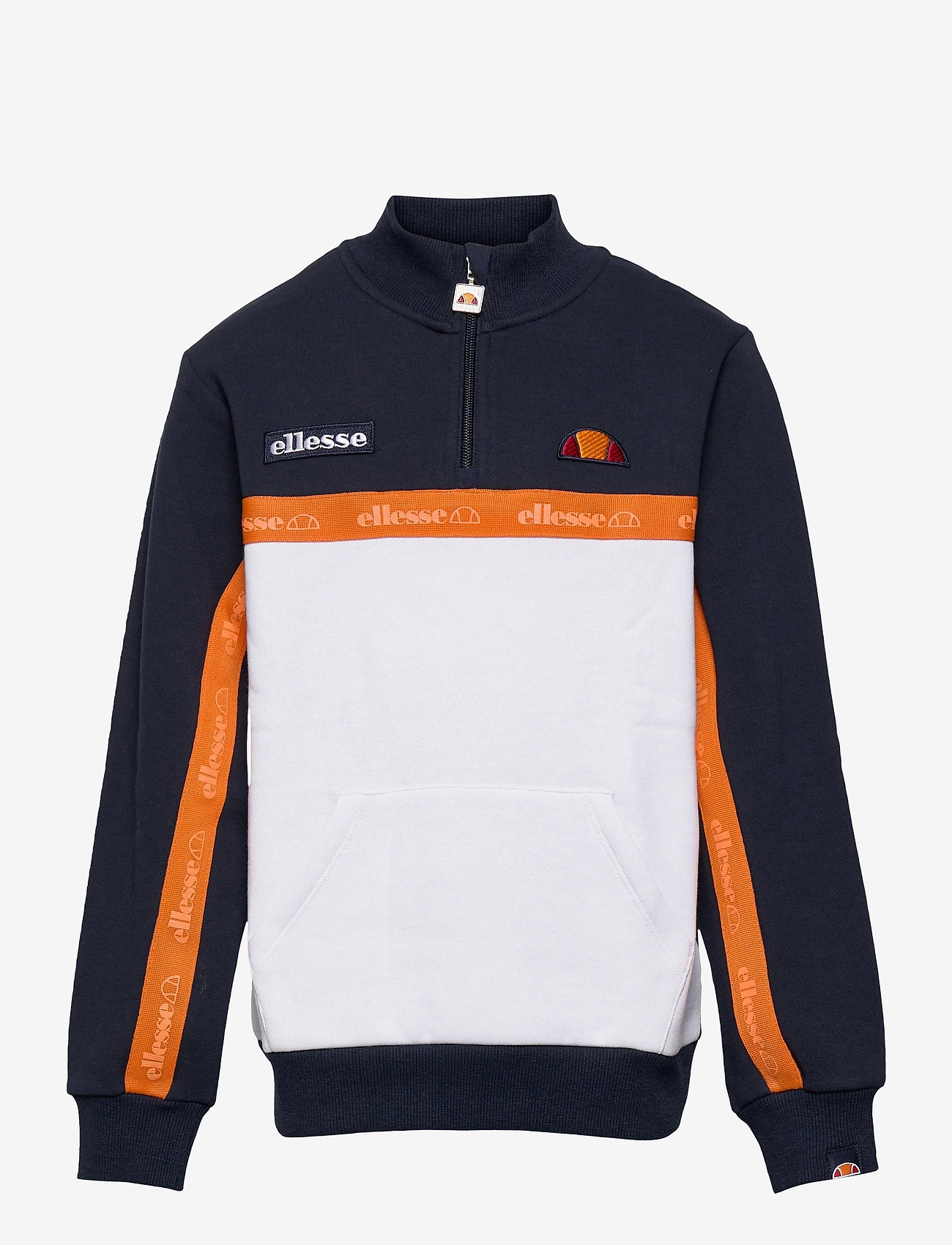 Ellesse - EL TUFFIO JNR 1/2 ZIP TRACK TOP - sweatshirts - navy - 0