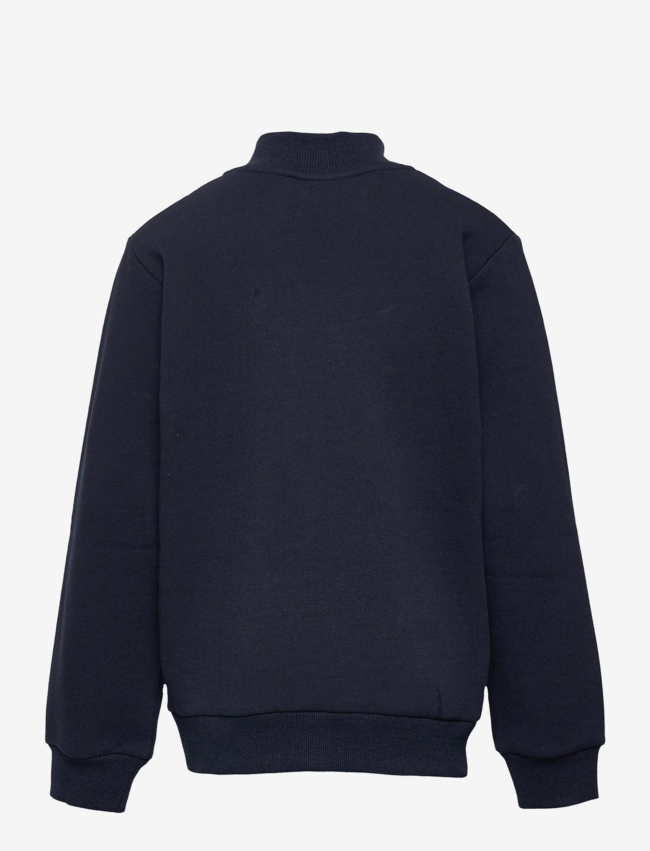 Ellesse - EL TUFFIO JNR 1/2 ZIP TRACK TOP - sweatshirts - navy - 1