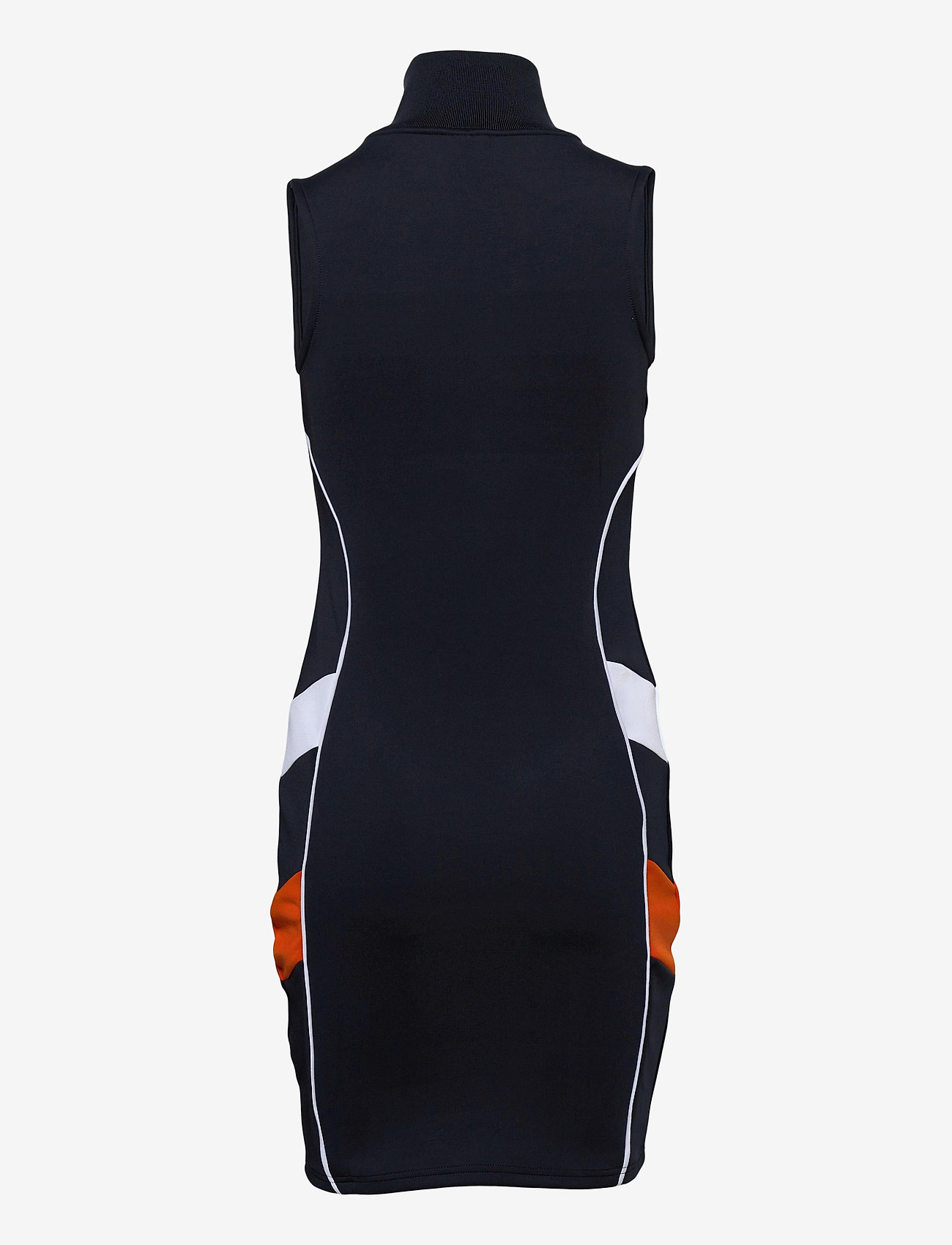 Ellesse - EL TRACK DRESS - bodycon dresses - navy - 1