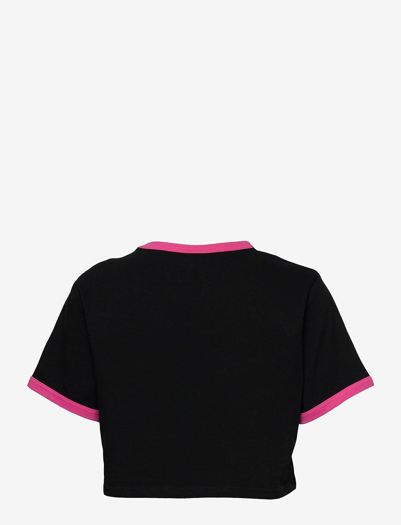 Ellesse - EL FILIDE CROP T-SHIRT - crop tops - black - 1