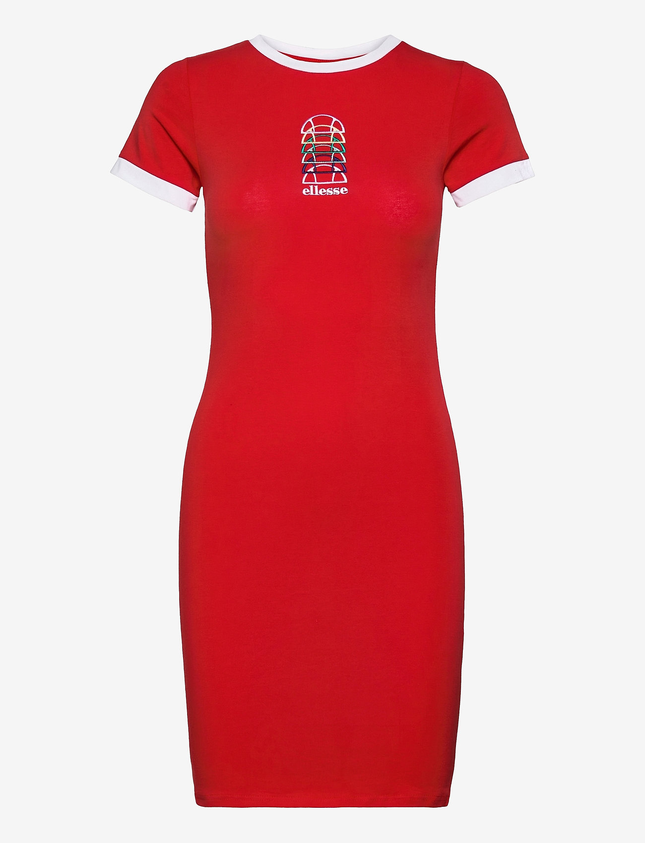 Ellesse - EL NINETTA DRESS - summer dresses - red - 0