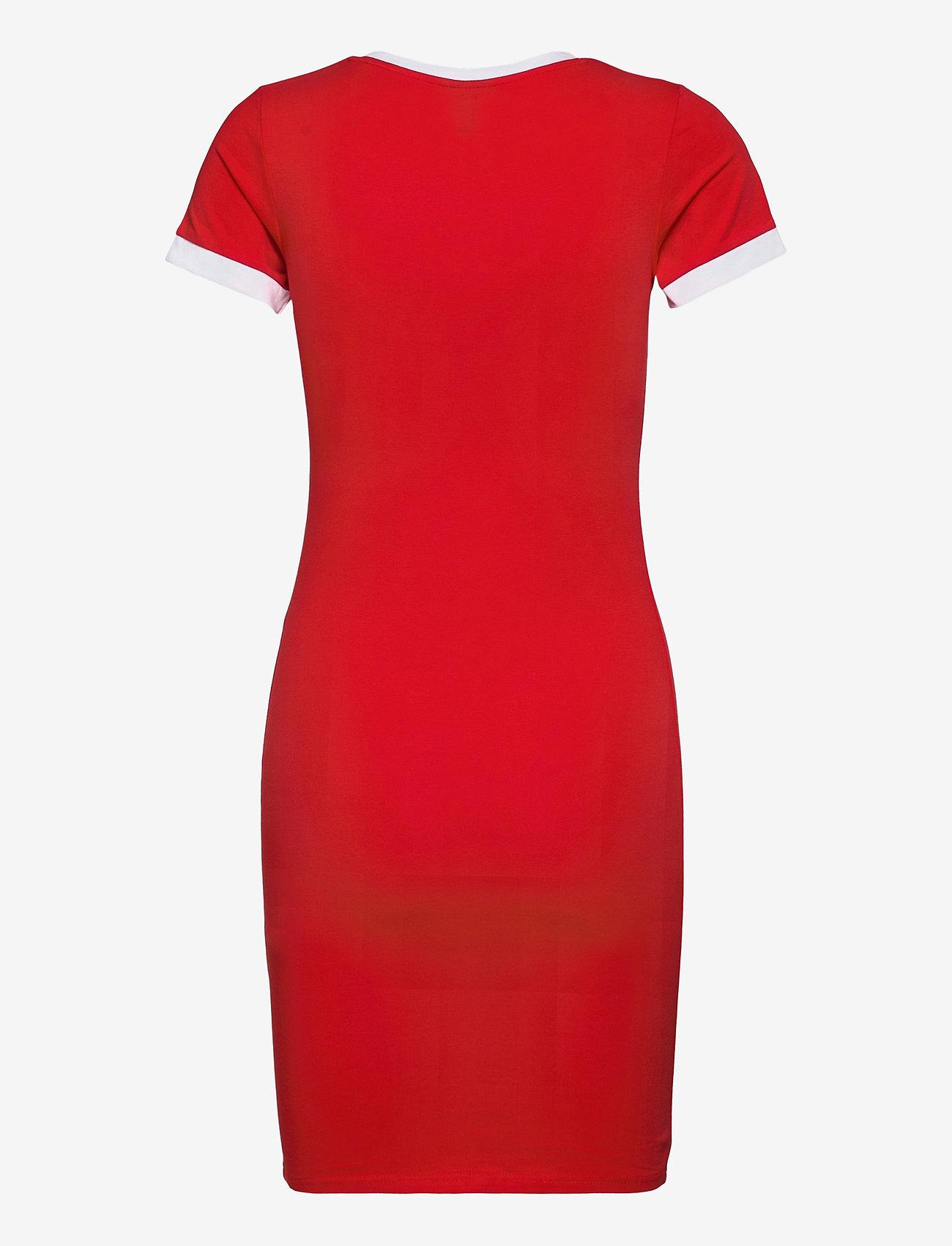 Ellesse - EL NINETTA DRESS - summer dresses - red - 1