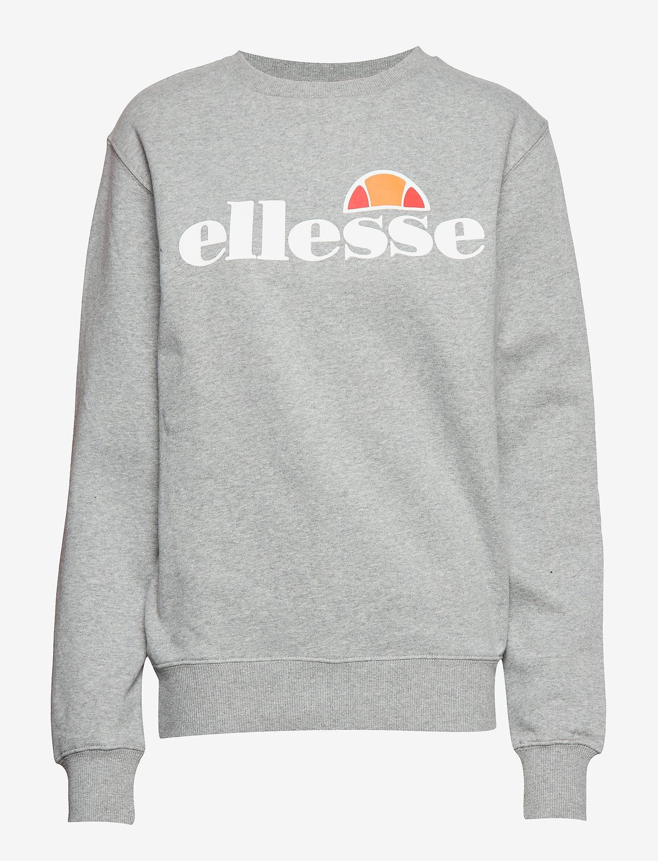 Ellesse - EL AGATA - sweatshirts - grey marl - 0