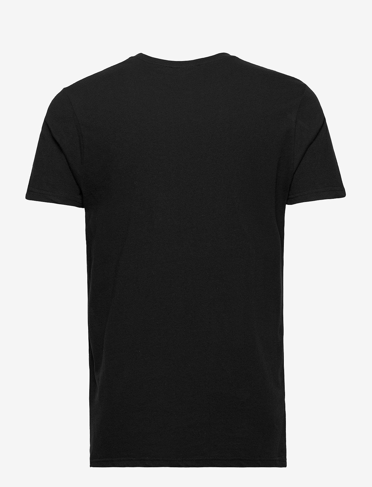 Ellesse EL PRADO (NEW LOGO) - T-skjorter BLACK - Menn Klær