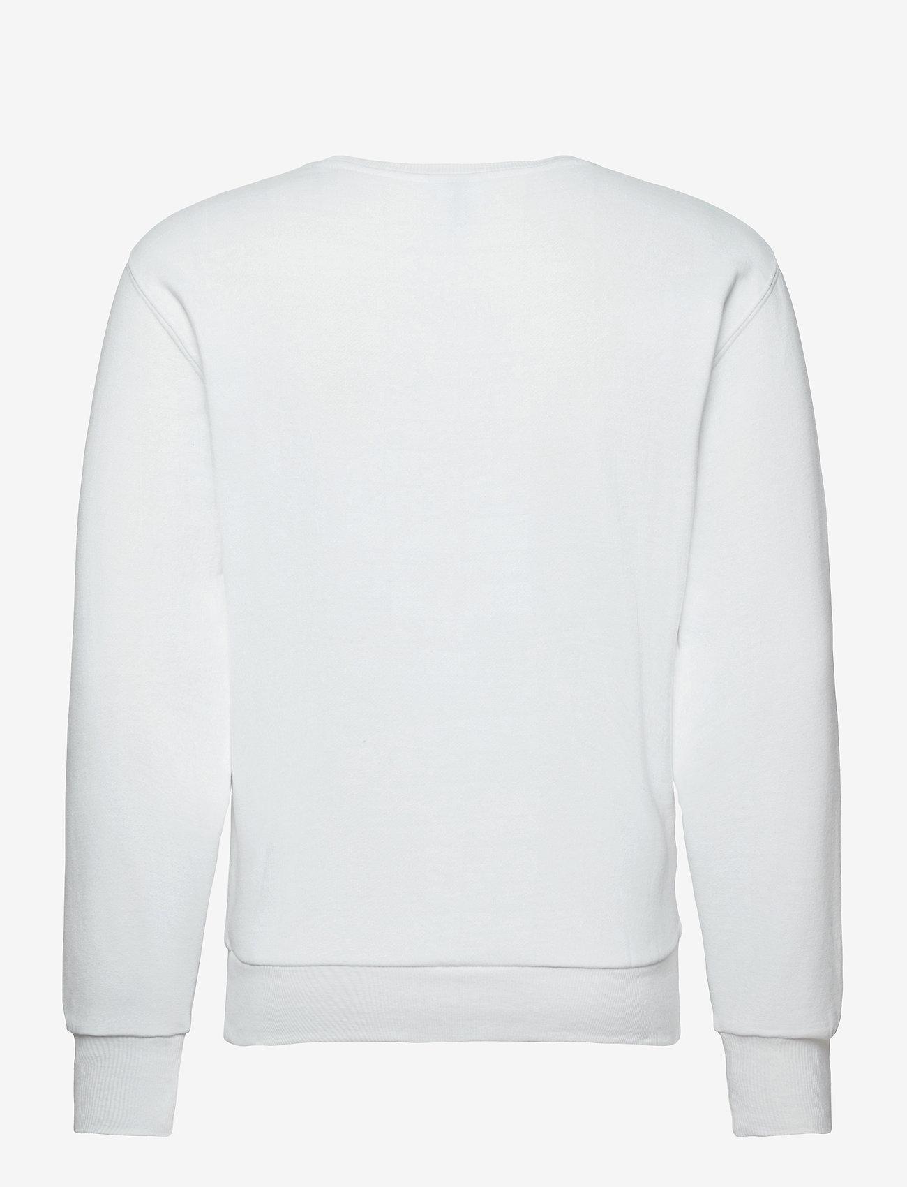 Ellesse EL SUCCISO (NEW LOGO) - Sweatshirts WHITE - Menn Klær
