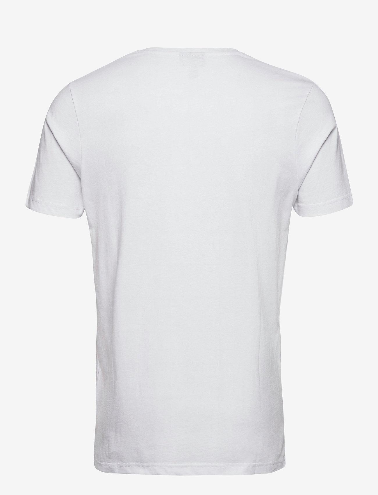 Ellesse EL FEVER TEE - T-skjorter WHITE - Menn Klær