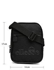 Ellesse - EL TEMPLETON SMALL ITEM BAG - olkalaukut - black mono - 5