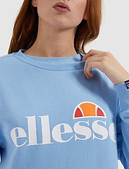 Ellesse - EL AGATA SWEATSHIRT - bluzy - light blue - 3