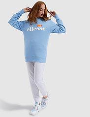 Ellesse - EL AGATA SWEATSHIRT - bluzy - light blue - 4
