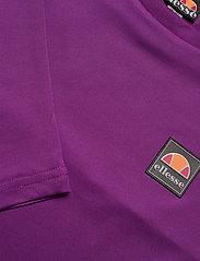 Ellesse - EL MERILO LS CROP T-SHIRT - crop tops - purple - 4