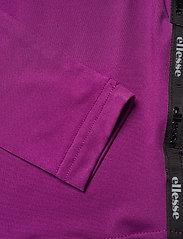 Ellesse - EL MERILO LS CROP T-SHIRT - crop tops - purple - 5