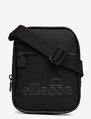 Ellesse - EL TEMPLETON SMALL ITEM BAG - olkalaukut - black mono - 0