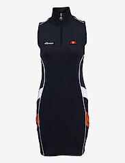 Ellesse - EL TRACK DRESS - bodycon dresses - navy - 0