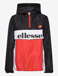 EL GARINOS JNR JACKET - vindjakke - black/red