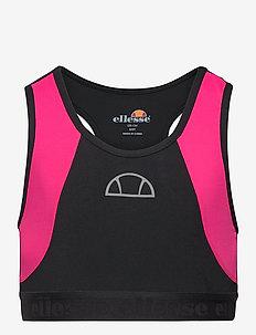 EL UMPRO JNR BRA TOP - tops - black/pink