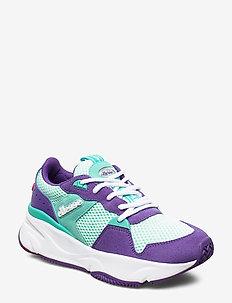 EL ASPIO SUED AF PURP/TRQS/WHT - chunky sneaker - purp/trqs/wht