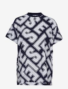 EL PRIMROSE - bedruckte t-shirts - navy