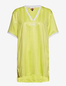 EL ALICIA - gestreifte t-shirts - yellow