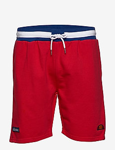 EL RIDERE FLEECE SHORT - treningsshorts - red