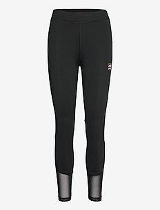 EL POSINA LEGGING - sportlegging en korte broek - black